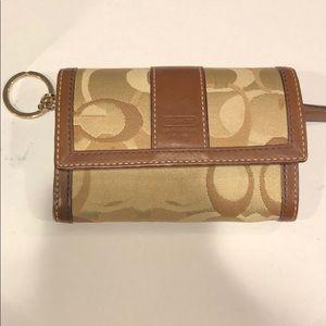 Tri-fold Coach Wallet